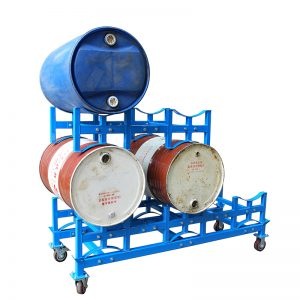 TY100 drum rack stacking