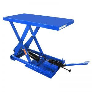 د FBX50 سټیشنري فوټ پمپ کینچی لفټ میز